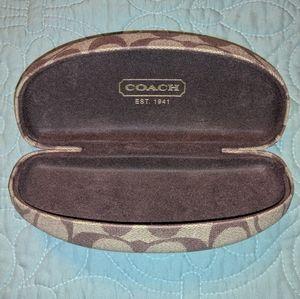 Coach glasses case